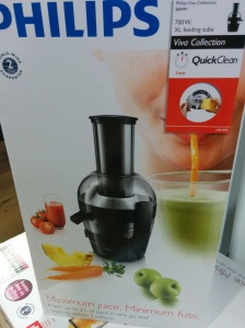Philips always produced good juicers
